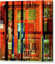 Acrylic Print featuring the photograph Gimmie A Sign by Wayne Sherriff