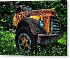 Jimmy Diesel Acrylic Print