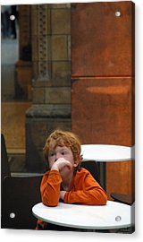 Ginger Moments Acrylic Print by Jez C Self