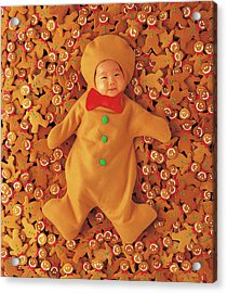 Gingerbread Baby Acrylic Print