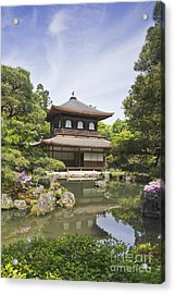 Ginkakuji Temple Acrylic Print by Rob Tilley