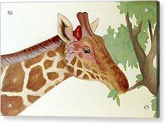 Giraffe Avatar Acrylic Print