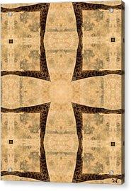 Giraffe Cross Acrylic Print