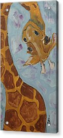Giraffe Tall Acrylic Print