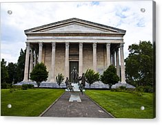 Girard College Philadelphia Acrylic Print by Bill Cannon