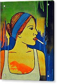 Girl 19 Acrylic Print