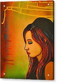 Girl 20 Acrylic Print