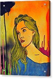 Girl 21 Acrylic Print