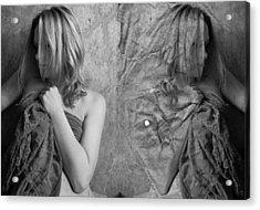Girl #4335 Acrylic Print by Andrey Godyaykin