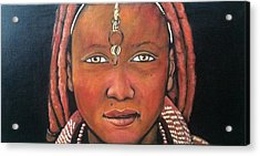 Girl From Africa Acrylic Print