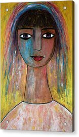 Girl From India.. Acrylic Print