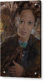 Girl From Samarra Acrylic Print