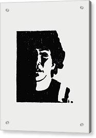 Girl In Shadow Acrylic Print by Sheri Buchheit