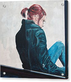 Girl In The Window-sfai Acrylic Print