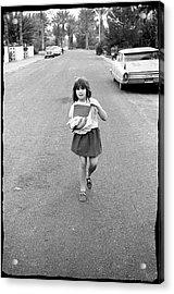 Girl On 13th Street, 1971 Acrylic Print