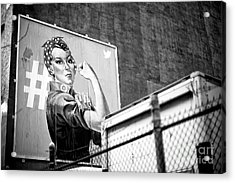 Girl Power New York City Acrylic Print