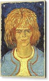 Girl With Ruffled Hair The Mudlark Acrylic Print