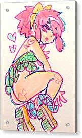 Girl01 Acrylic Print