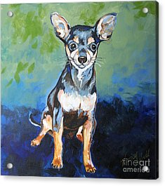 Giuseppe Acrylic Print by Michele Hollister - for Nancy Asbell