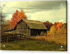 Fall Has Always Been My Favorite Season. Acrylic Print by Skip Tribby