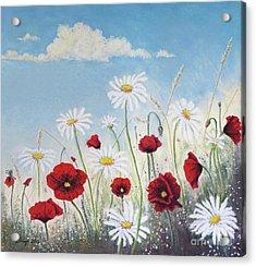 Give Me A Daisy Acrylic Print