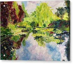 Giverney Acrylic Print