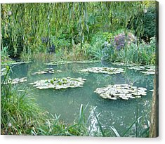 Giverny V Acrylic Print by Wendy Uvino