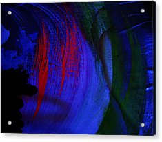 Glacial Epoch Acrylic Print by Nereida Slesarchik Cedeno Wilcoxon