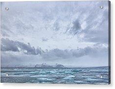 Glacial Lagoon Iceland Acrylic Print
