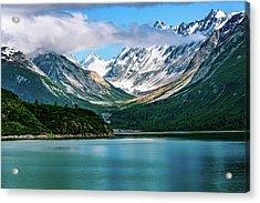Glacial Valley Acrylic Print