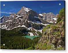 Acrylic Print featuring the photograph Glacier Backcountry 2 by Gary Lengyel