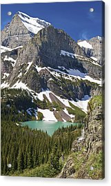 Acrylic Print featuring the photograph Glacier Backcountry by Gary Lengyel