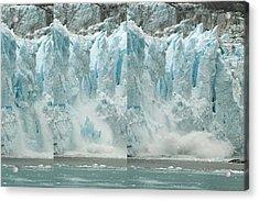 Glacier Calving Sequence 2 V2 Acrylic Print
