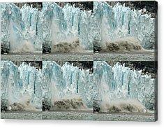 Glacier Calving Sequence 3 Acrylic Print