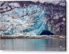 Glacier Cave Acrylic Print