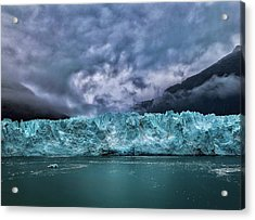 Acrylic Print featuring the photograph Glacier by Lucian Capellaro