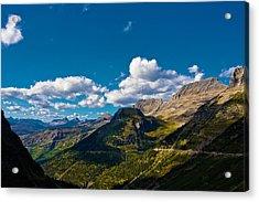 Glacier National Park Acrylic Print by Jon Woodbury