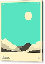 Glacier National Park, Lake Mcdonald Acrylic Print by Jazzberry Blue