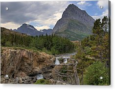 Glacier National Park Landscape Acrylic Print
