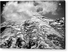 Acrylic Print featuring the photograph Glacier On Mt Rainier by Lori Seaman