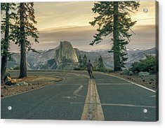 Glacier Point Adventure Acrylic Print