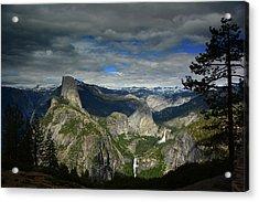 Glacier Point Acrylic Print