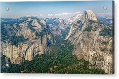 Glacier Point Yosemite Np Acrylic Print by Daniel Heine