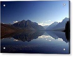 Glacier Reflections 2 Acrylic Print by Marty Koch