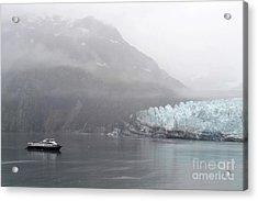 Glacier Ride Acrylic Print