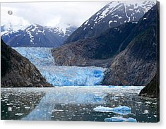 Acrylic Print featuring the photograph Glacier by Shirin Shahram Badie