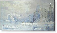 Glacier Acrylic Print by Tristram Ellis