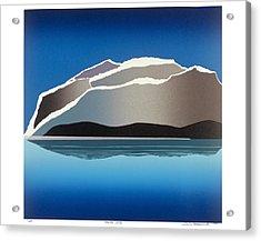 Glaciers Acrylic Print by Jarle Rosseland