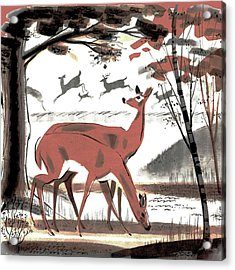 Glade Acrylic Print
