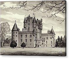Glamis Castle Acrylic Print